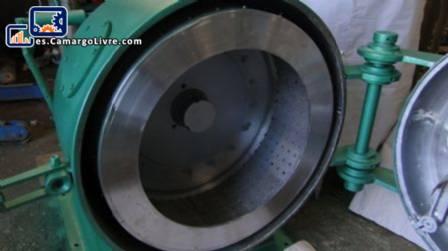 Centrífuga de acero inoxidable/carbón