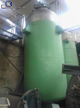 Reactores químicos para las industrias químicas, agro, alimentos, farmacéutica, pintura, etc..