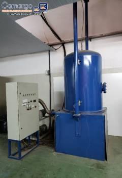 Máquina para la metalización y pintura robot Amaterasu