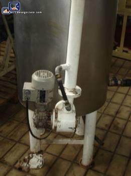 Tanque de acero inoxidable para chocolates 250 kg