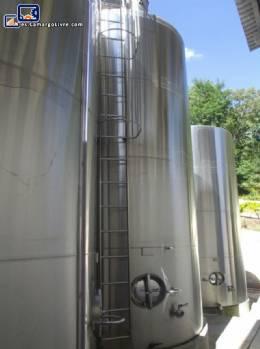 Tanque de almacenamiento de acero inoxidable para 25,000 litros