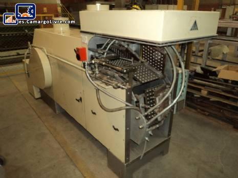 Horno industrial modelo WA18 de fabricantes de golosinas oblea Haas