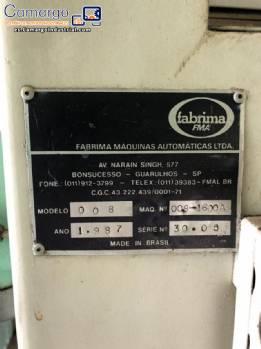 Envoltura de café en polvo Fabrima