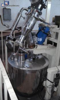 Olla a vapor para la fabricación de balas al vacío