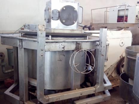 Tanque del mezclador crema Damix