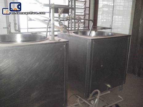 Sistema de pasteurización de maduración para helados