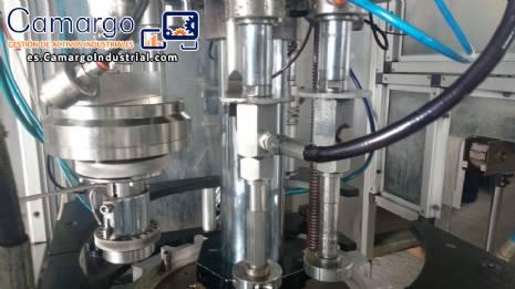 Línea para máquina de llenado de aerosol Cosmar Omas