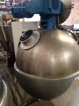bola de acero inoxidable de 200 litros Pan