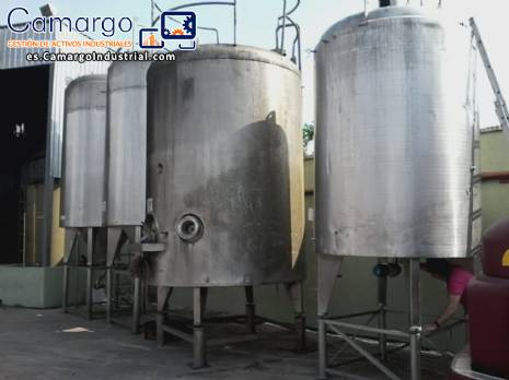 Stainless steel tanks APV