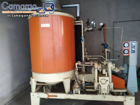 Generador de vapor industrial Clayton