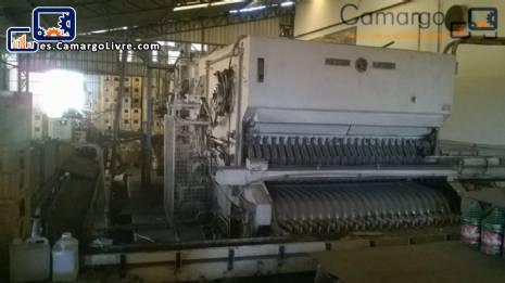Lavado de máquina industrial Holstein Kappert
