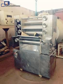 5 rodillos refinador Jaf inox