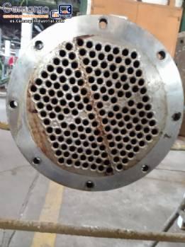 Concha y tubo condensador